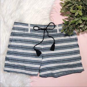 Ann Taylor LOFT Riviera Linen Drawstring Shorts 2